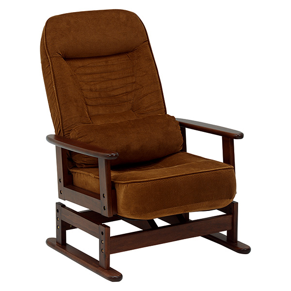 【送料無料】萩原 LZ-4742BR ブラウン [高座椅子] 【同梱配送不可】【代引き・後払い決済不可】【沖縄・北海道・離島配送不可】