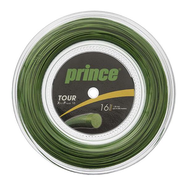 【送料無料】prince 7J931 R TOUR XP 16 GRN グリーン [テニスガット硬式用]