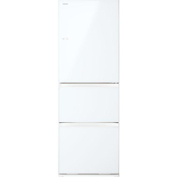【送料無料】東芝 GR-M36SXV(EW) グランホワイト VEGETA(ベジータ) [冷蔵庫(363L・右開き・3ドア)]