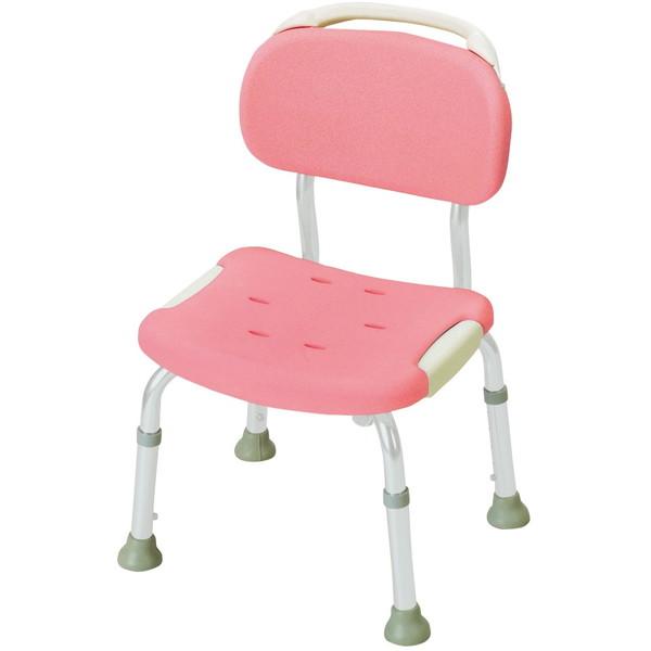 【送料無料】Richell(リッチェル) やわらかシャワーチェア 背付コンパクト ピンク 標準タイプ [介護 福祉 医療 病院 介助 浴室 お風呂 おふろ]