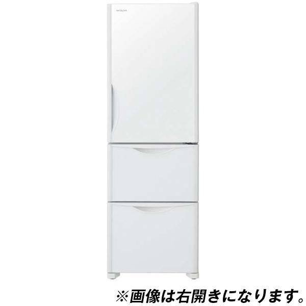 【送料無料】日立 R-S38JVL(XW) クリスタルホワイト [冷蔵庫(375L・左開き)] 【代引き・後払い決済不可】【離島配送不可】