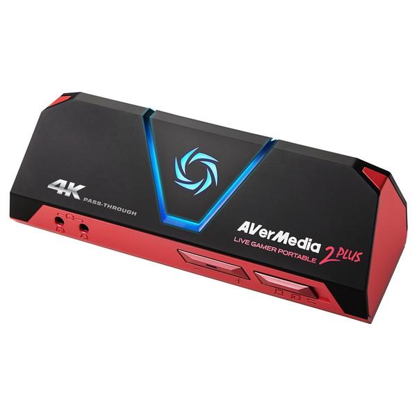 AVERMEDIA AVT-C878 PLUS [ゲームキャプチャ 4K対応 ゲーム配信 4Kパススルー ライブ配信 YouTuber 録画]