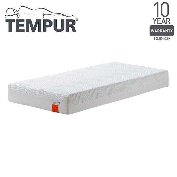 【送料無料】Tempur コントゥアスプリーム21 ホワイト セミダブル 120×195×21 [テンピュール 低反発 マットレス ベッド 寝具 安眠 快眠 快適枕]【同梱配送不可】【代引き不可】【沖縄・北海道・離島配送不可】