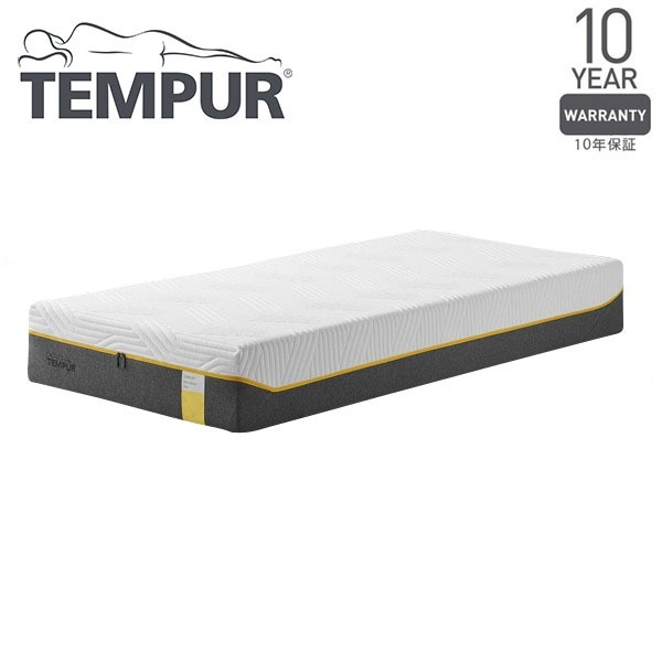 【送料無料】Tempur センセーションエリート25 ホワイト シングル 97×195×25 [テンピュール 低反発 マットレス ベッド 寝具 安眠 快眠 快適枕]【同梱配送不可】【代引き不可】【沖縄・北海道・離島配送不可】