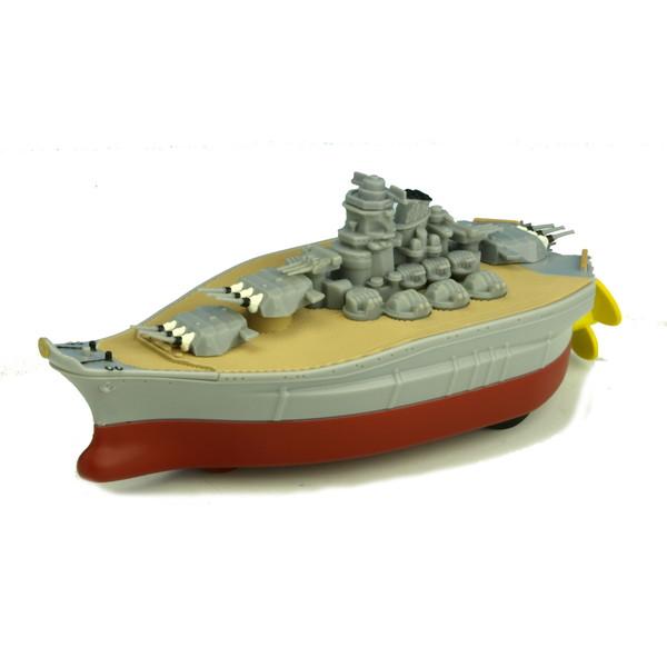 遊んでよし 飾ってよし のプルバックマシン 水上航行可能 プルプラ 戦艦大和 プルバック 返品送料無料 プレゼント