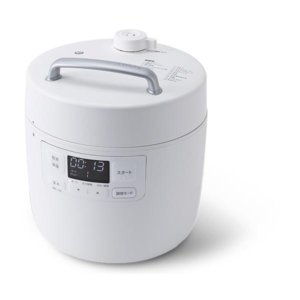 火を使わないから怖くない より幅広い調理ができていつも手軽に本格料理 効率的に手料理を作りたい なら よく使う機能を厳選したエントリーモデル siroca シロカ SP-2DF231 ホワイト おうちシェフ 電気圧力鍋 2.4L 圧力鍋 ショッピング レシピ本付 一人暮らし 調理 1台10役 シンプル 温めなおし 炊飯 予約販売品 煮込み 蒸し コンパクト 無水調理 時短 ほったらかし