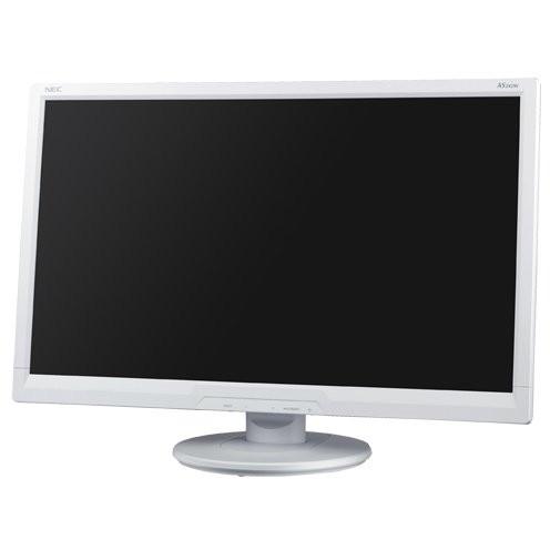 【送料無料】NEC LCD-AS242W ホワイト [24型ワイド液晶ディスプレイ]【同梱配送不可】【代引き不可】【沖縄・離島配送不可】