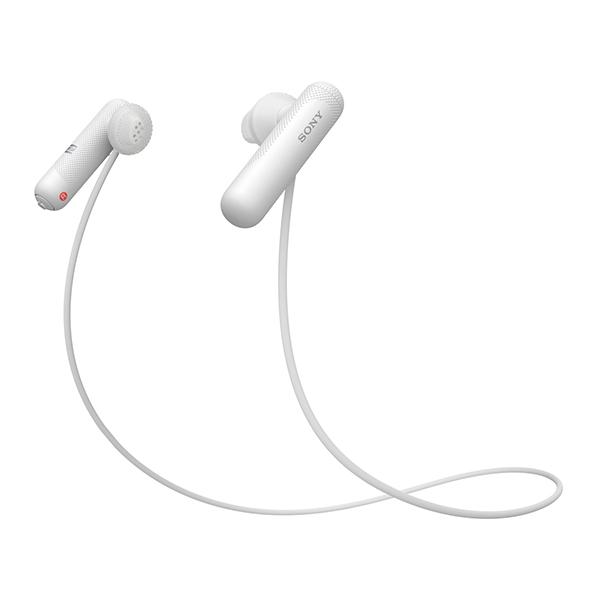【送料無料】SONY WI-SP500-WQ ホワイト [Bluetoothイヤホン(インナーイヤー型・防滴)] WISP500WQ