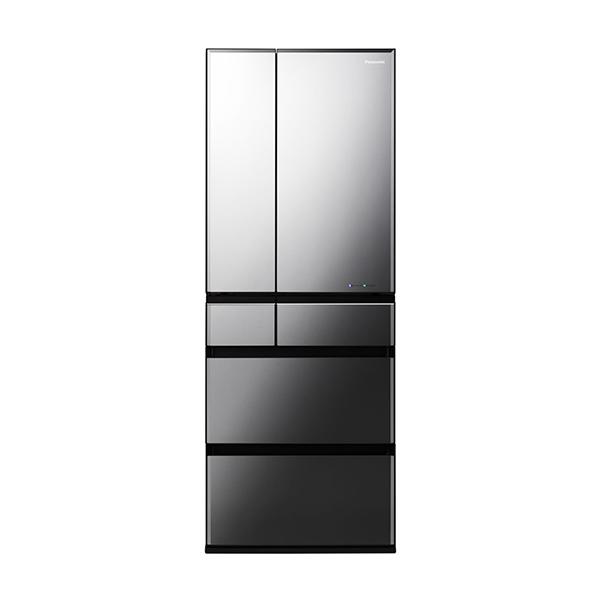 【送料無料】PANASONIC NR-F554WPX-X オブシディアンミラー WPXタイプ [冷蔵庫(550L・フレンチドア)]