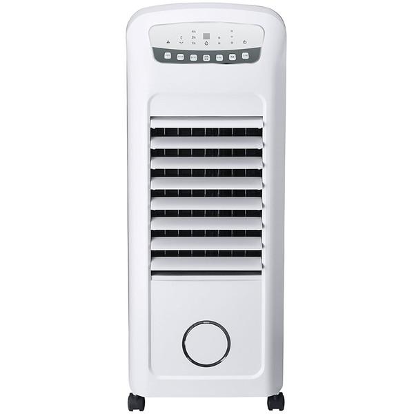 スリーアップ 加湿機能付 温冷風扇 ヒート&クール ホワイト ファン ヒーター 加湿 HC-T1802WH HCT1802WH 加湿器 扇風機 Three-up