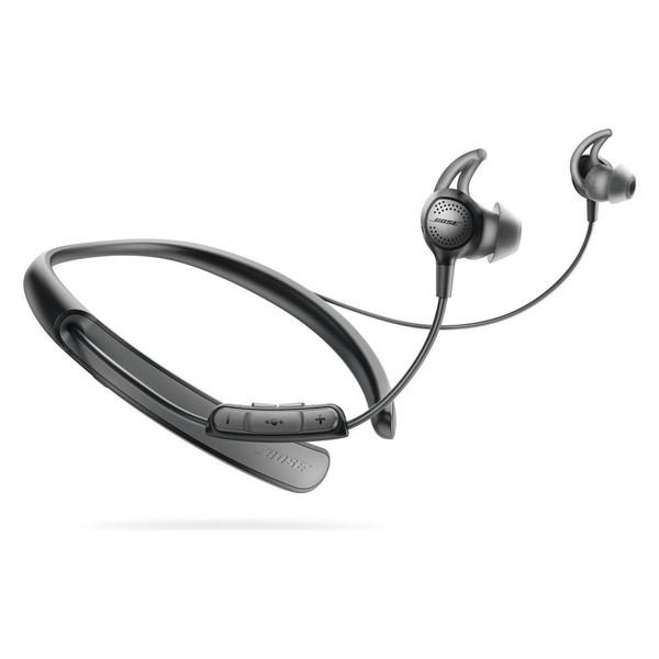 【送料無料】BOSE QuietControl 30 wireless headphones ブラック [ワイヤレスノイズキャンセリングイヤホン(Bluetooth対応)]