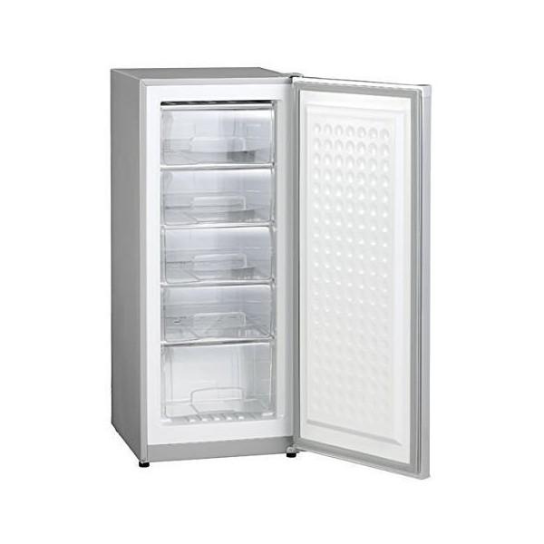 【送料無料】三ツ星貿易 MA-6144 シルバーグレー Excellence (エクセレンス) [冷凍庫 (144L・右開き)]