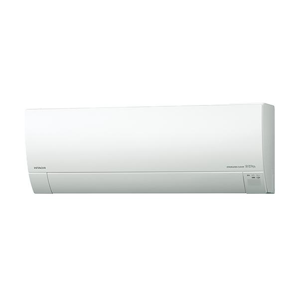 【送料無料】日立 RAS-MJ25H(W) スターホワイト ステンレス・クリーン 白くまくん MJシリーズ [エアコン(主に8畳用)]