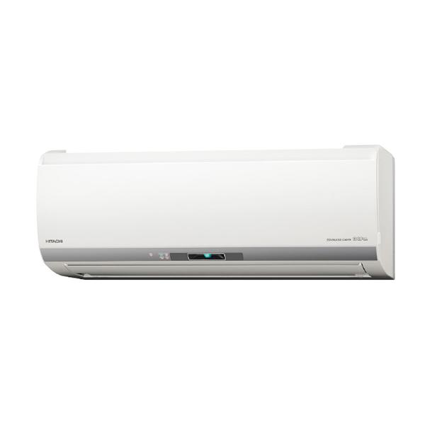 【送料無料】日立 RAS-E25H(W) スターホワイト ステンレス・クリーン 白くまくん Eシリーズ [エアコン(主に8畳用)]