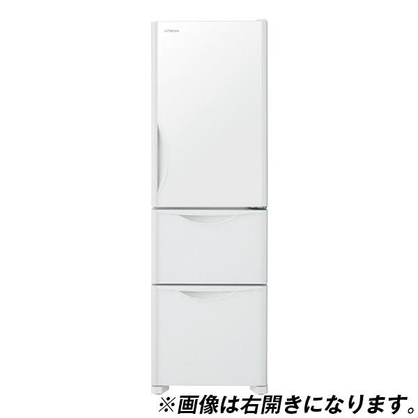 【送料無料】日立 R-S32JVL(XW) クリスタルホワイト Sシリーズ [冷蔵庫(315L・左開き・3ドア)]