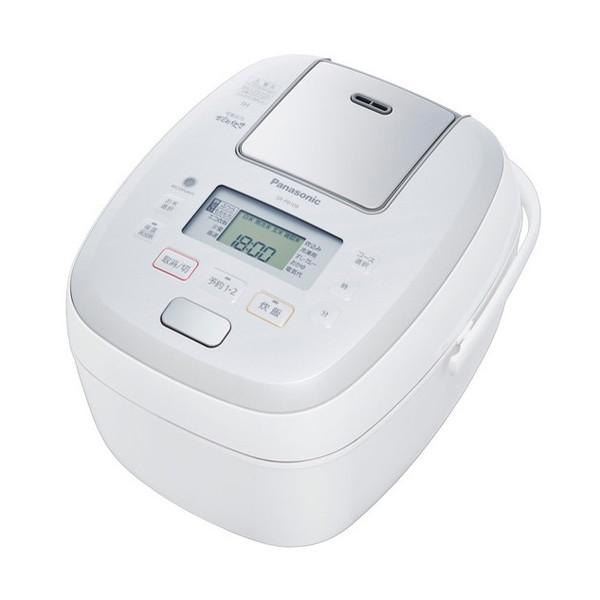 【送料無料】PANASONIC SR-PB108 ホワイト おどり炊き [可変圧力IH炊飯器(5.5合炊き)]