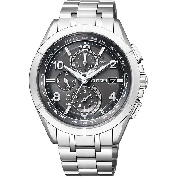 CITIZEN(シチズン) AT8160-55H アテッサ ダイレクトフライト 限定モデル [ソーラー充電式腕時計(メンズ)]