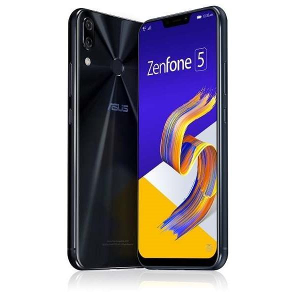 【送料無料】ASUS ZE620KL-BK64S6 シャイニーブラック Zenfone 5 [SIMフリースマートフォン]