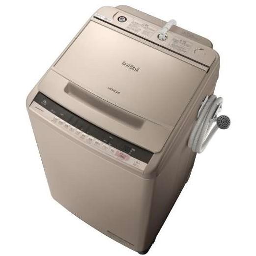 【送料無料】日立 BW-V100C シャンパン ビートウォッシュ [全自動洗濯機(10.0kg)]