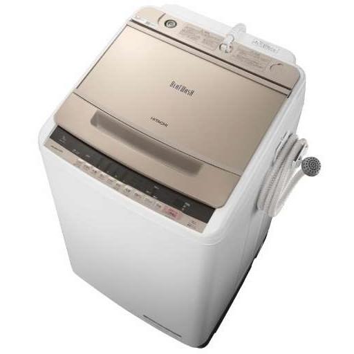【送料無料】日立 BW-V90C シャンパン ビートウォッシュ [全自動洗濯機(9.0kg)]