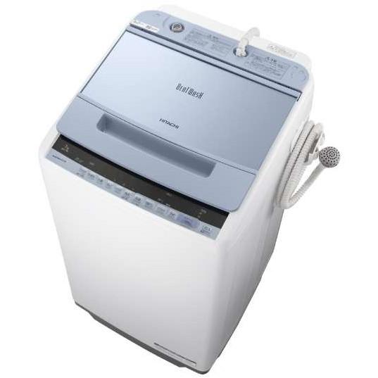 【送料無料】日立 BW-V70C ブルー ビートウォッシュ [全自動洗濯機(7.0kg)]