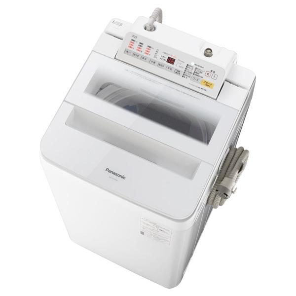 【送料無料】PANASONIC NA-FA70H6 ホワイト [全自動洗濯機 (洗濯7.0kg)]