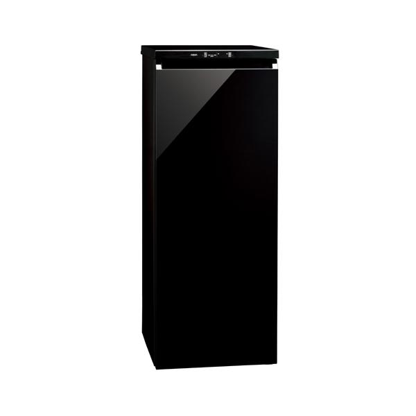 【送料無料】AQUA AQF-GS15G クリスタルブラック [冷凍庫 (153L・右開き)]
