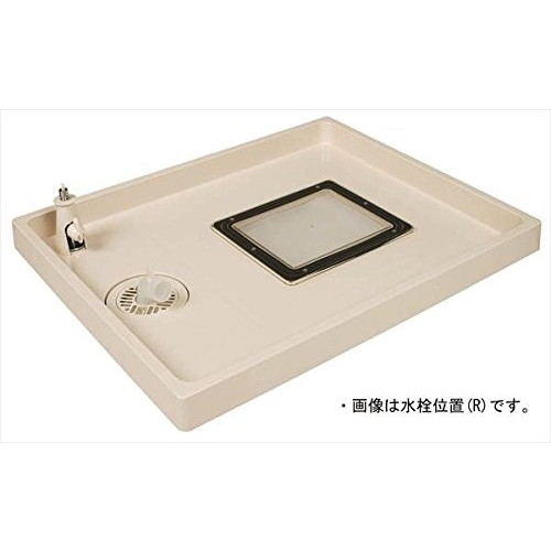 【送料無料】テクノテック TSC-800-L コックタッチエンデバー [点検口・給水栓付防水パン(水栓左)]
