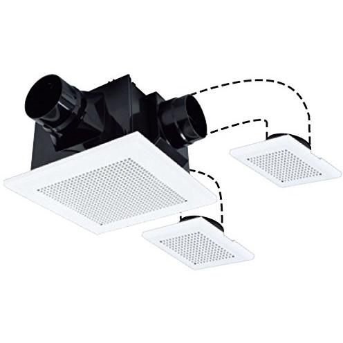 【送料無料】MITSUBISHI VD-15ZFFLC10 [天井埋込形ダクト用換気扇(3部屋換気用・24時間換気機能付)] VD15ZFFLC10