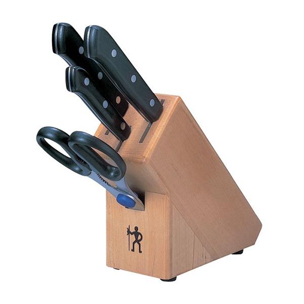 【送料無料】HENCKELS ロストフライ ナイフブロックセット 10055-015 (5点セット)