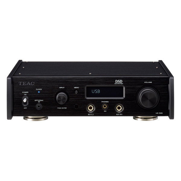 【送料無料】TEAC UD-505-B ブラック [ヘッドホンアンプ(ハイレゾ音源対応)]