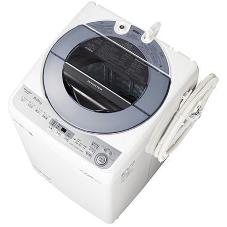 【送料無料】全自動洗濯機 シャープ 静か SHARP ES-GV8C 白 ホワイト シルバー シルバー 自動槽洗い 静か 静音 洗濯8kg 自動槽洗い 風呂水ポンプ 家族 同棲 カップル 大量 大容量, ゴルフレオ:c596c342 --- sohotorquay.co.uk