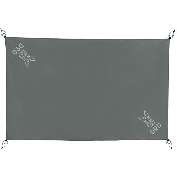 DODテントにぴったりサイズ 汚れや雨水からテントを守る ポリエステル生地のグランドシート DOD 国内正規品 GS2-564-GY グレー レジャー キャンプ グランドシート オンラインショッピング 2人用 アウトドア