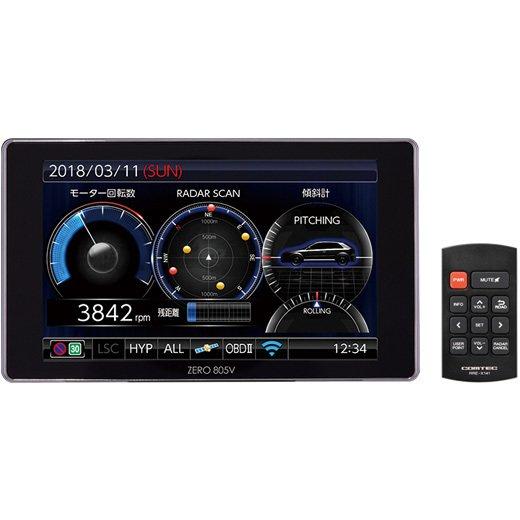 【送料無料】コムテック ZERO805V [レーダー探知機]