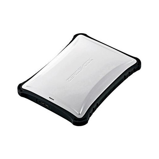 【送料無料】ELECOM ELP-ZS010UWH ELECOM Portable Drive USB3.0 1TB White ZEROSHOCK【同梱配送不可】【代引き不可】【沖縄・離島配送不可】