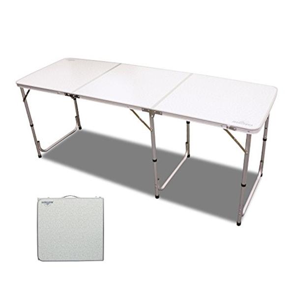 【送料無料】ハック 折りたたみ式アウトドアテーブル 180cm montagna