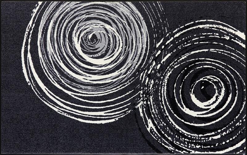 【送料無料】クリーンテックスジャパン D017I Swirl 110×175cm[フロアマット 玄関マット ラグ デザインマット 滑り止めマット フローリング]【離島配送不可】