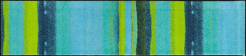 【送料無料】クリーンテックスジャパン J012F Medley acqua 60×260cm[フロアマット 玄関マット ラグ デザインマット 滑り止めマット フローリング]【離島配送不可】