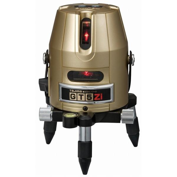 明るい場所でも見やすい高輝度レーザー タジマ GT5Z-I [レーザー墨出し器(矩十字・横)]