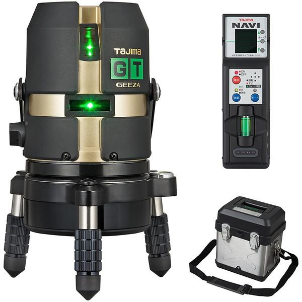 ハイパワーダイレクトグリーンレーザー タジマ GT4G-NI [レーザー墨出し器(矩・横・両縦)]
