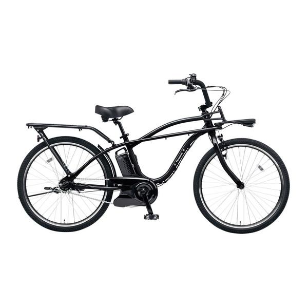 【送料無料】PANASONIC BE-ELZC63A-B ジェットブラック BP02 [電動自転車(26インチ・内装3段変速)]【同梱配送不可】【代引き不可】【本州以外配送不可】