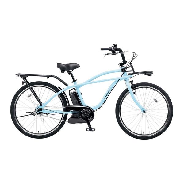 【送料無料】PANASONIC BE-ELZC63A-V ショアブルー BP02 [電動自転車(26インチ・内装3段変速)]【同梱配送不可】【代引き不可】【本州以外配送不可】