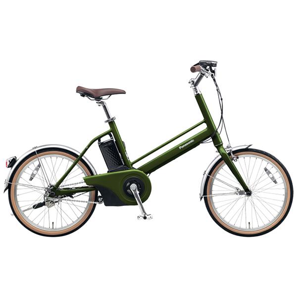 【送料無料】PANASONIC BE-JELJ01A-G エバーグリーン Jコンセプト [電動自転車(20インチ)]【同梱配送不可】【代引き不可】【本州以外配送不可】