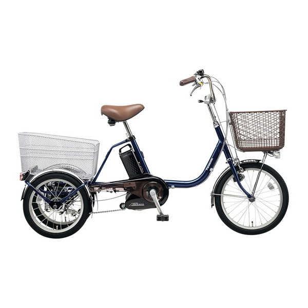 【送料無料】PANASONIC BE-ELR832-V USブルー ビビライフ [電動自転車(18/16インチ・内装3段変速)]【同梱配送不可】【代引き不可】【本州以外配送不可】