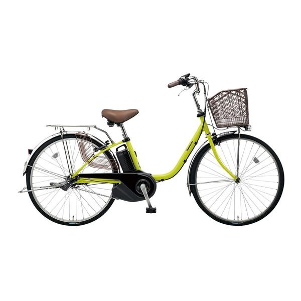 【送料無料】PANASONIC BE-ELSX63-G ピスタチオ ビビ・SX [電動自転車(26インチ・内装3段変速)]【同梱配送不可】【代引き不可】【本州以外配送不可】