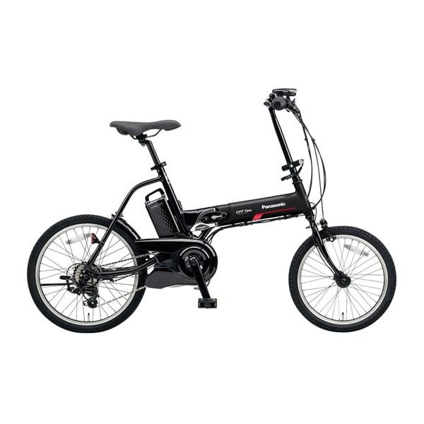 【送料無料】PANASONIC BE-ELW072A-B2 マットナイト×ブラック オフタイム [電動自転車(18/20インチ・外装7段変速)]【同梱配送不可】【代引き不可】【本州以外配送不可】