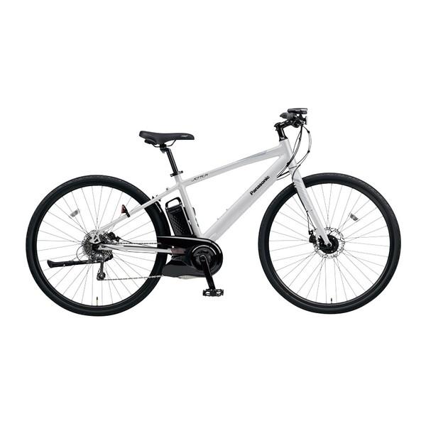 【送料無料】PANASONIC BE-ELHC49A-N マットクラウディグレー ジェッター [電動自転車(700×38C・外装8段変速・フレームサイズ490mm)]【同梱配送不可】【代引き不可】【本州以外配送不可】