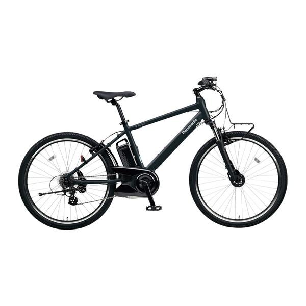 【送料無料】PANASONIC BE-ELH242B-B マットナイト ハリヤ [電動自転車(26インチ・外装7段変速)]【同梱配送不可】【代引き不可】【本州以外配送不可】