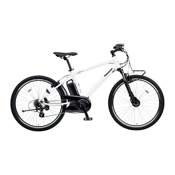 【送料無料】PANASONIC BE-ELH242B-F クリスタルホワイト ハリヤ [電動自転車(26インチ・外装7段変速)]【同梱配送不可】【代引き不可】【本州以外配送不可】