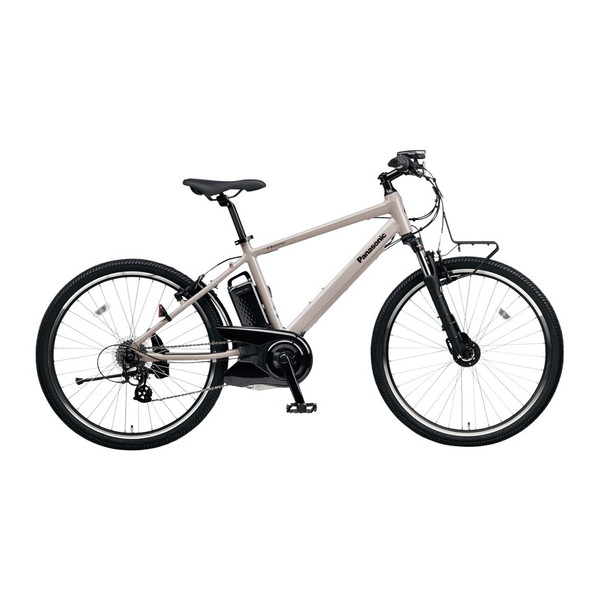 【送料無料】PANASONIC BE-ELH242B-N ストーングレー ハリヤ [電動自転車(26インチ・外装7段変速)] 【同梱配送不可】【代引き・後払い決済不可】【本州以外の配送不可】